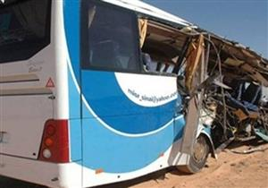 الصحة: وفاة مواطن وإصابة 19 آخرين في حادث تصادم أتوبيسين بمدينة بدر