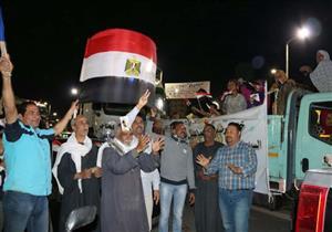 """مسيرة """"سويسية"""" احتفالاً بفوز السيسي بفترة رئاسية ثانية (صور)"""