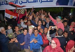 على أنغام السمسمية.. الإسماعيلاوية والمحافظ يحتفلون بفوز الرئيس (صور)