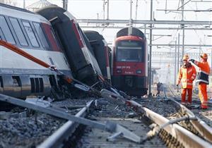 إصابة 40 شخصا في حادث تصادم قطارين في النمسا