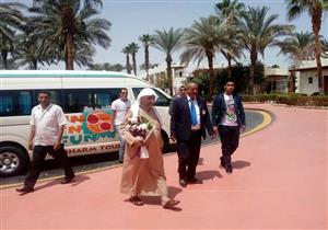 بالصور- استقبال أول حالة للسياحة العلاجية في مستشفى شرم الشيخ الدولي