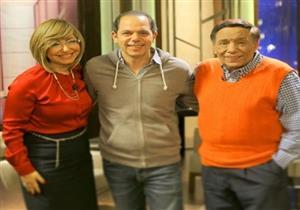 """رامي إمام يشكر لميس الحديدي بعد موافقتها التمثيل للمرة الأولى مع """"الزعيم"""""""