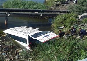"""أمن الإسكندرية: ضحايا حادث """"كوبري مرغم"""" 13 بينهم 11 سائحًا صينيًا (صور)"""