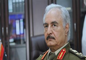 حفتر يغادر القاهرة إلى بنغازي