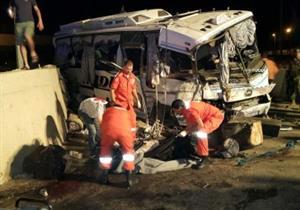 مقتل 13 طفلا في حادث تصادم بين قطار وحافلة مدرسية في الهند