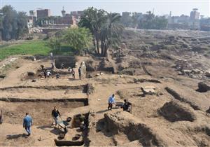 """""""الآثار"""": الكشف عن مقصورة ملكية بمنطقة عرب الحصن بالمطرية"""