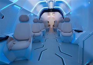 """بالفيديو.. بي إم دبليو تتعاون مع فيرجن لتصميم مقصورة """"هايبرلوب 1"""" دبي"""