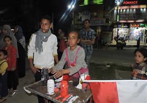 """بالصور- باعة الأعلام في بني سويف: """"يا رب كل يوم انتخابات"""""""