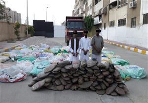 إحباط تهريب 3 أطنان بانجو من سيناء للسويس
