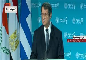 رئيس قبرص: إمكانيات مصر السياحية وأمنها يجذبان السائح الأوروبي - فيديو