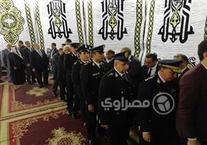 """وزير الداخلية الأسبق وبدر وهاشم يعزون وكيل """"النواب"""" في وفاة زوجته"""