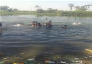 غرق طفل أثناء استحمامه في ترعة بسوهاج