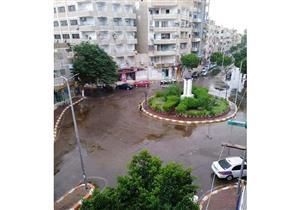 سقوط أمطار خفيفة على قنا
