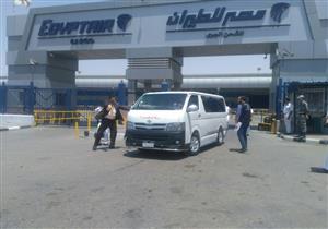 """خروج جثمان """"مريم"""" من مطار القاهرة.. وتشييعه بالتجمع الخامس"""