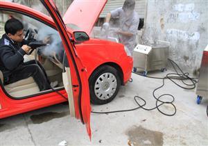 تحويل مغاسل السيارات للعمل بالبخار واستبدال الصنابير بالمصالح الحكومية بالدقهلية