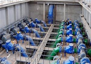 تنفيذ 6 مشروعات مياه شرب وصرف بواحة باريس في الوادي الجديد