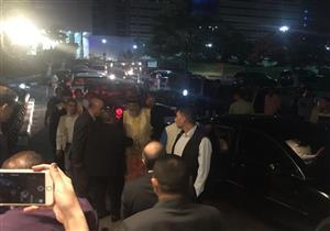 """البابا تواضروس يصل مطار القاهرة لاستقبال رفات شهداء """"مذبحة ليبيا"""""""