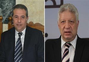"""مرتضى منصور: """"توفيق عكاشة رجل وطني لكنه """"غلط"""" - فيديو"""