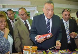 محافظ الجيزة يفتتح معارض  سلع رمضان بتخفيضات تصل إلى 25%