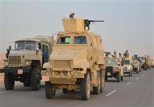 """القوات المسلحة : مقتل 19 تكفيريا ضمن """" العملية الشاملة سيناء 2018 """""""