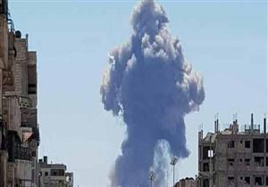 سلسلة انفجارات ضخمة في قاعدة عسكرية وسط سوريا