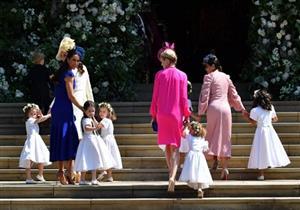 """الأميرة شارلوت تخطف الأنظار في حفل زفاف """"هاري وميجان"""""""
