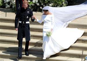 تعرف على سبب ارتداء ميجان ماركل فستان زفاف محتشم