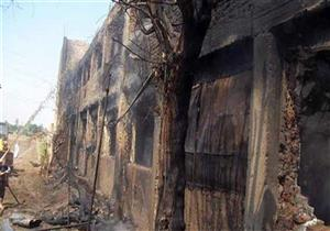 نفوق 4 آلاف كتكوت في حريق مزرعة دواجن في بني سويف