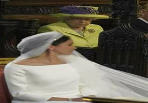 """تعرف على سر عدم ابتسامة الملكة إليزابيث في زفاف """"هاري"""" و""""ميجان"""""""