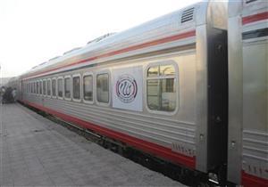 """""""السكك الحديدية"""": تكييف القطارات لم يتأثر بارتفاع درجات الحرارة"""