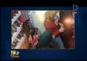 """""""الطفلة نفذت العملية"""".. """"الإبراشي"""" يعرض مقطعًا مصورًا لسرقة محل بكفر الدوار"""