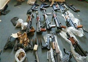 الداخلية تضبط 189 سلاح ناري بحوزة 170متهما بالمحافظات