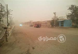بالصور - أمطار ورعد وبرق في الوادي الجديد والمحافظة تعلن الطوارئ