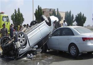 مصرع 5 وإصابة 2 في حوادث متفرقة بسوهاج
