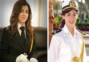 """بالصور- بعد ظهورها في إعلان رمضان.. 5 معلومات عن القبطانة """"مروة السلحدار"""""""