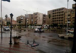 """""""الأرصاد"""": أمطار غزيرة اليوم على جنوب الصعيد وسيناء"""