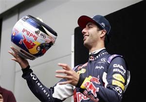 ريتشاردو يفوز بسباق جائزة موناكو ببطولة العالم في فورمولا-1