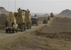 البيان 23 للعملية الشاملة.. القوات المسلحة تعلن مقتل 8 تكفيريين وتدمير 80 وكراً
