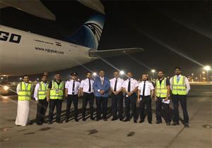 """إقلاع طائرة مصر للطيران الثانية إلى ألمانيا لتحويلها من ركاب لـ""""بضائع"""""""