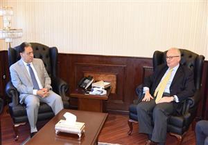 بالصور.. وزير الصحة يستقبل سفير إيطاليا لتعزيز التعاون بين البلدين
