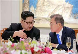 الزعيم الكوري الشمالي يستقبل الوفد الكوري الجنوبي في بيونج يانج