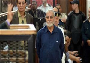 """غدًا.. محاكمة بديع و738 متهما بقضية """"فض اعتصام رابعة"""""""
