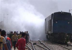 السيطرة على حريق بعربة قطار بالشرقية
