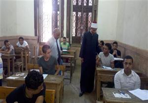 20 محضر غش بامتحاني القرآن والحديث لطلاب العلمي بالثانوية الأزهرية