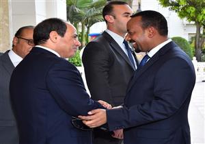السيسي يقيم مأدبة إفطار تكريمًا لرئيس الوزراء الإثيوبي