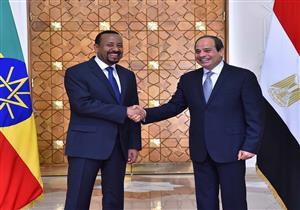 بالفيديو.. السيسي ورئيس وزراء إثيوبيا يتبادلان القسم للحفاظ على المصالح المشتركة