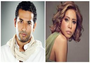 """شيرين تهنئ عمرو سعد علي """" كارما """" .. هكذا وصفته."""