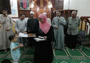 بالصور| قرية «مشتهر» تحتفي بأطفالها حفظة القرآن.. ومسابقات للشباب والكبار في رمضان