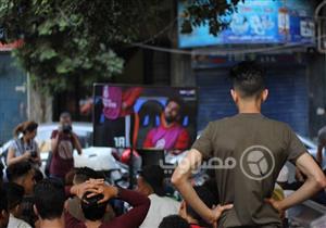 """بالصور- مُشجعو منتخب مصر من المقاهي: """"ترقب.. أمل.. حزن"""""""
