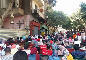 """كأس العالم في """"مصر الجديدة"""".. شوارع خالية وكافيهات مزدحمة بـ""""بركة الماتش """""""